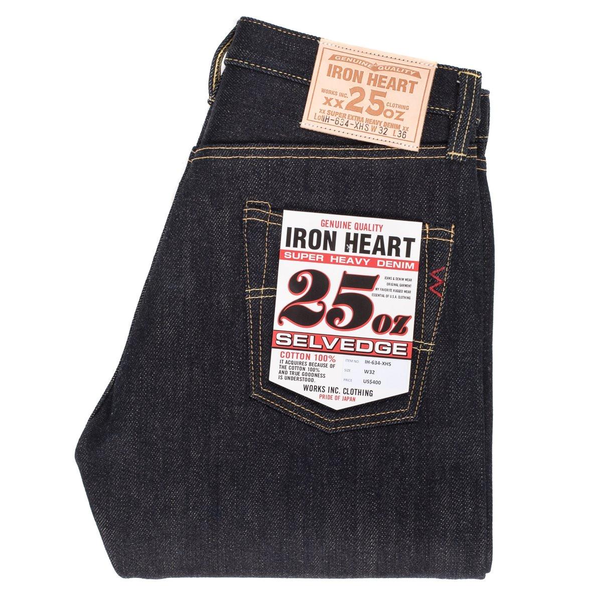iron heart 634xhs indigo 25oz