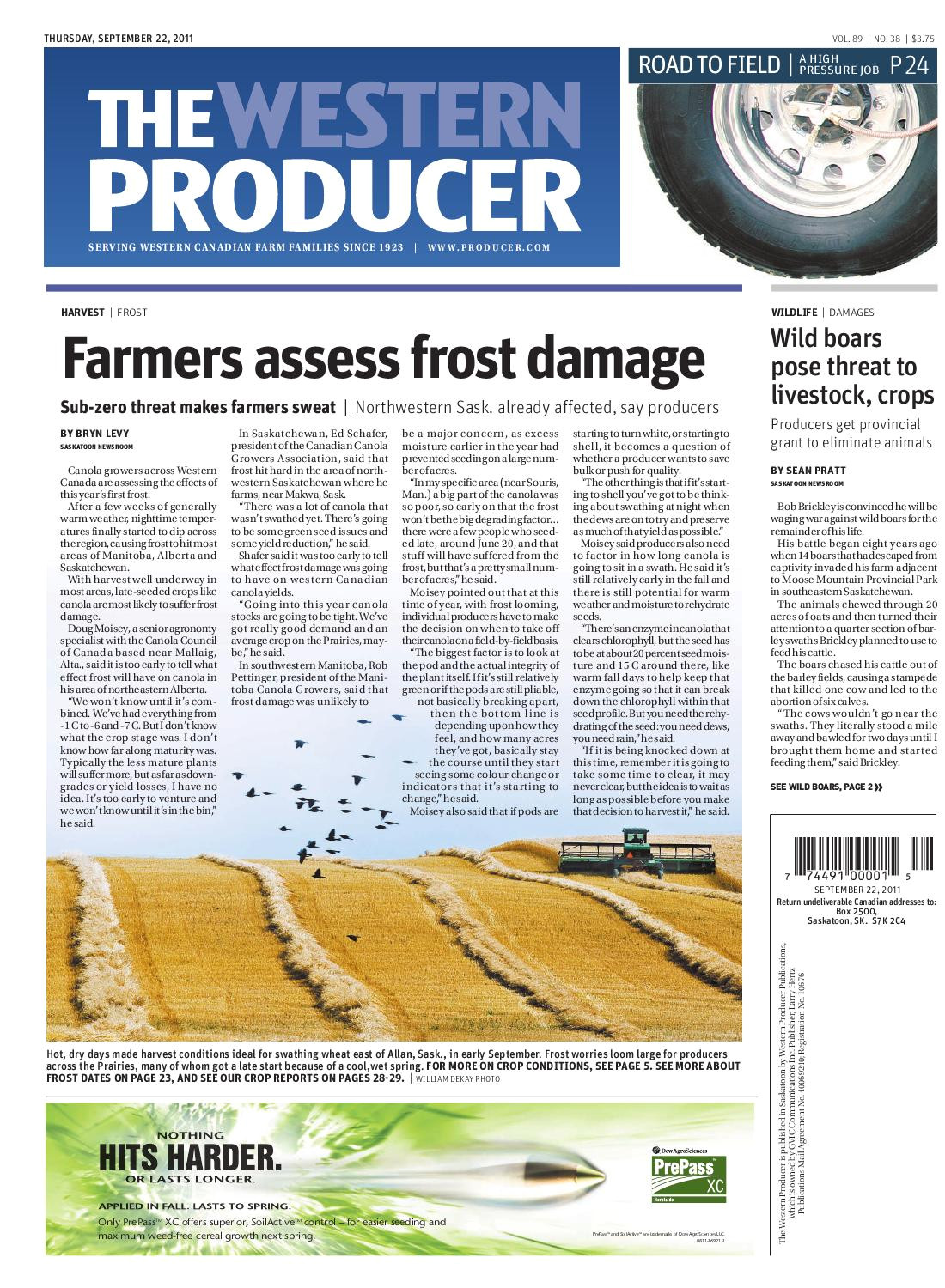 september 22 2011 the western producer by the western producer issuu