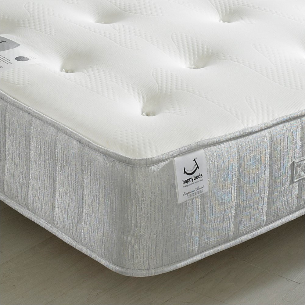 memory foam open coil spring happy beds pearl contour medium soft tension mattress 5ft uk king 150 x 200 cm amazon co uk kitchen home