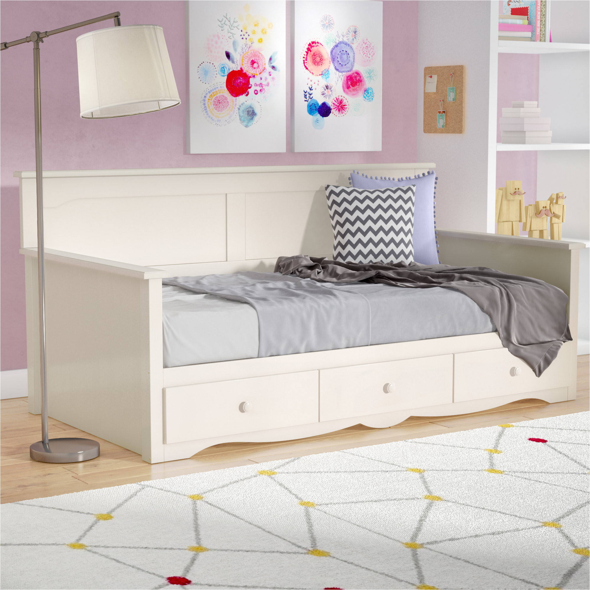 value city furniture daybeds awesome harriet bee barra daybed with storage reviews
