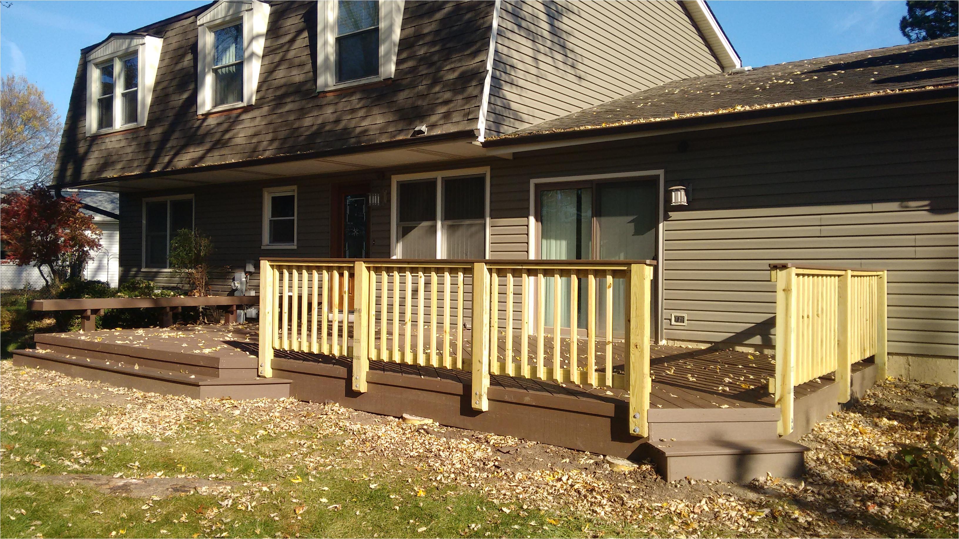timber tech deck by elk grove village deck builder thumbnail
