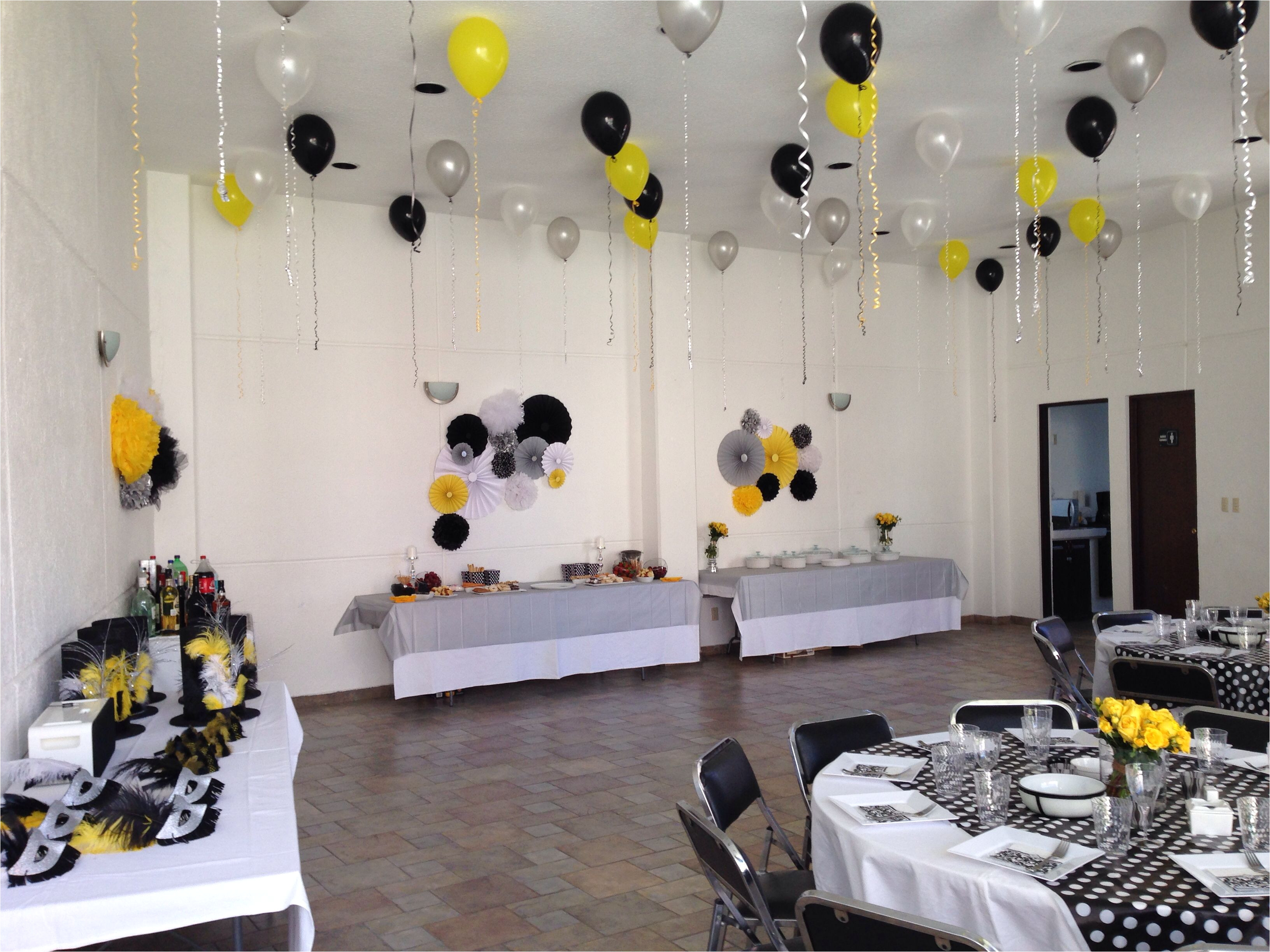 decoracia n fiesta blanco y negro party yellow party fiesta decoracia n blanco y negro amarillos globos decoracia n