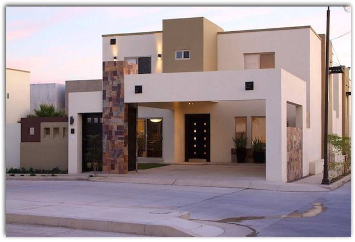 Fachada casas pequeas tipo infonavit portones en 2019 for Fachadas de casas modernas pequenas de infonavit