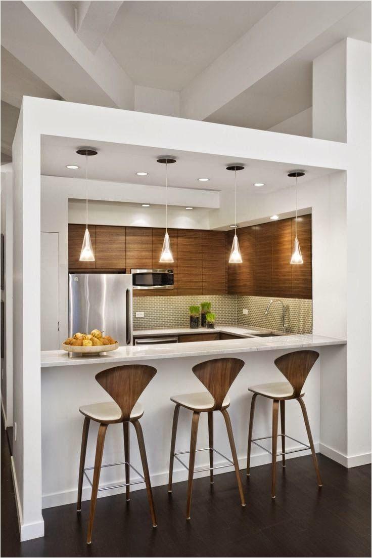 cocina abierta en blano y madera de 30 cocinas modernas pequea as llenas de inspiracia n