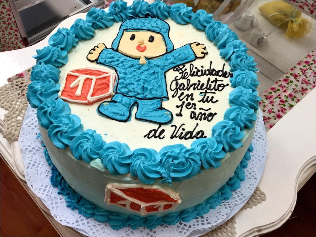torta con motivo de pocoyo tortas para nios