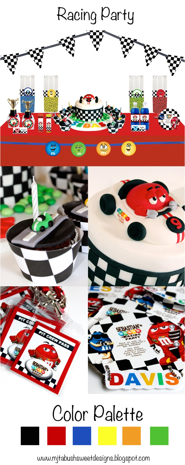 racing party theme carrerasbautismocelebracionesdecoracion fiestacumple autosfiesta