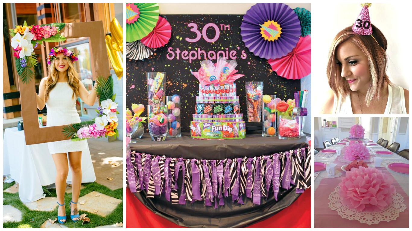 16 ideas para decorar una fiesta de cumpleaa os naomero 30