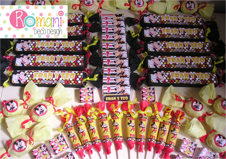 golosinas personalizadas para candy bar o mesa dulce