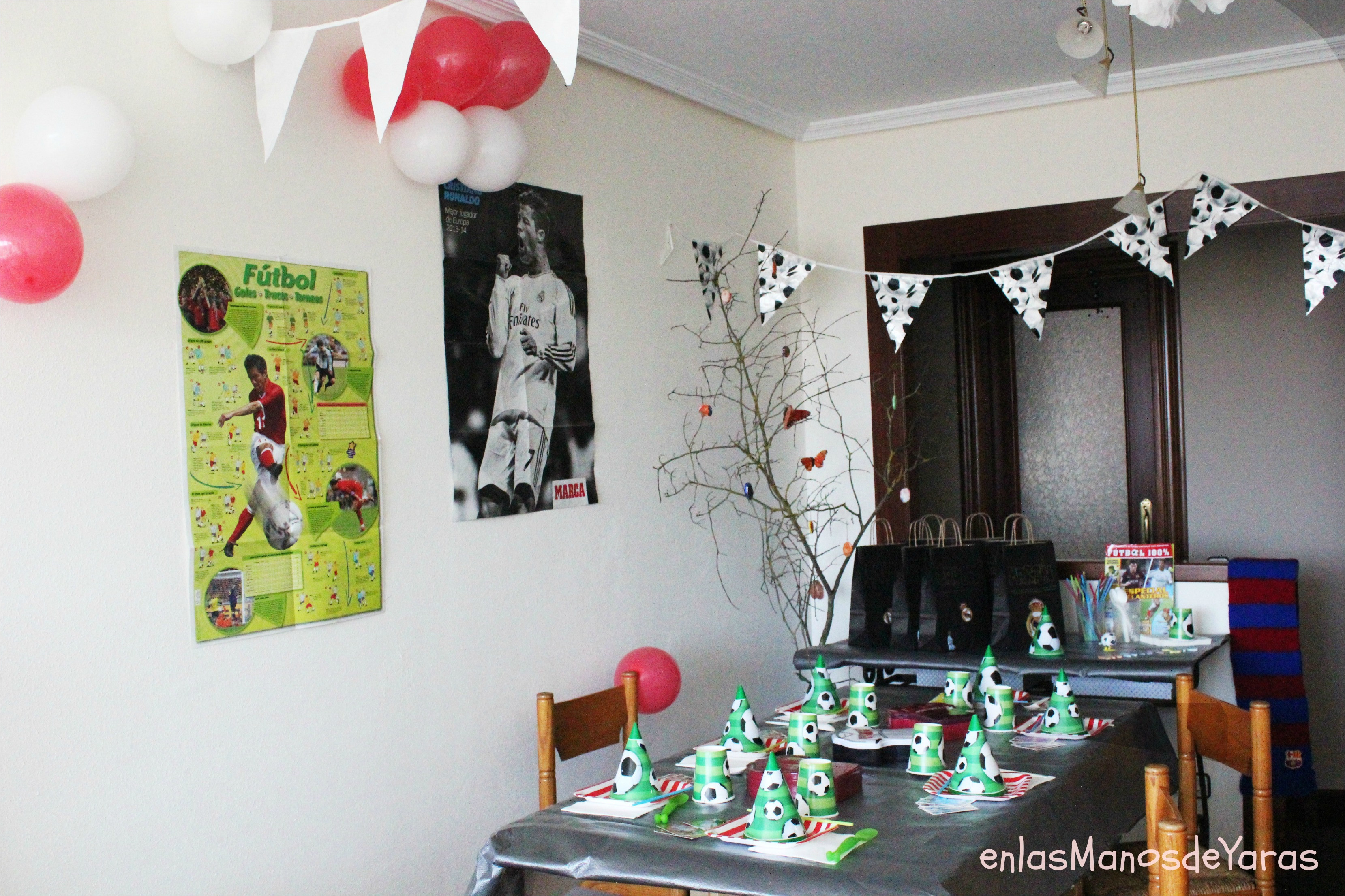 great decoracin temtica ftbol cumpleaos ftbol diy with decorar un cumpleaos adulto with decorar un cumpleaos adulto