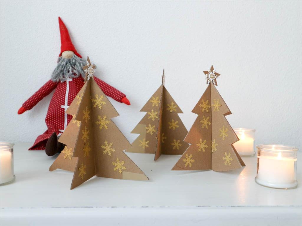 arbol de navidad de carton