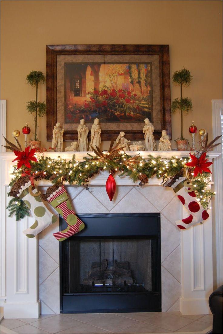 motivos navidea os para decorar la chimenea mas de 50 ideas