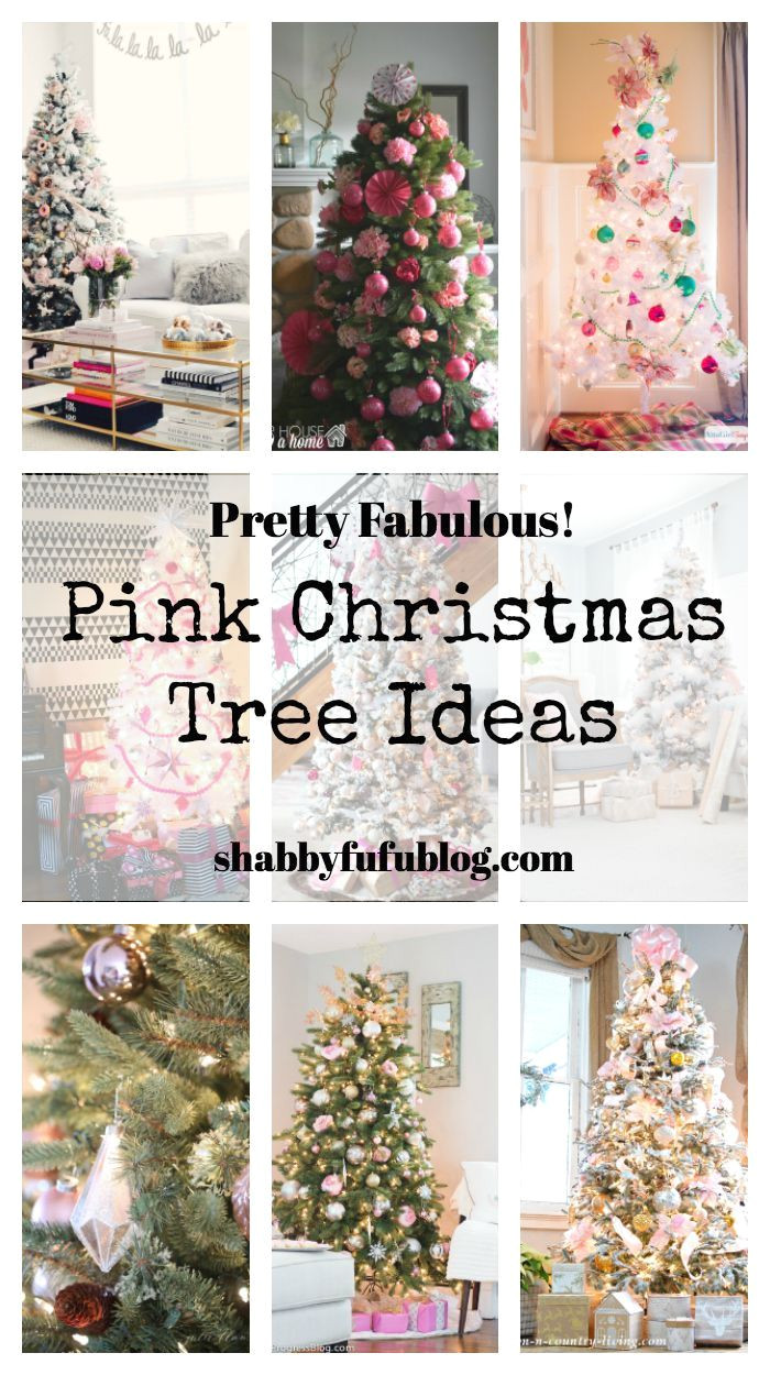 pretty pink christmas tree decorations and pink holiday decor navidaddecoraciones de