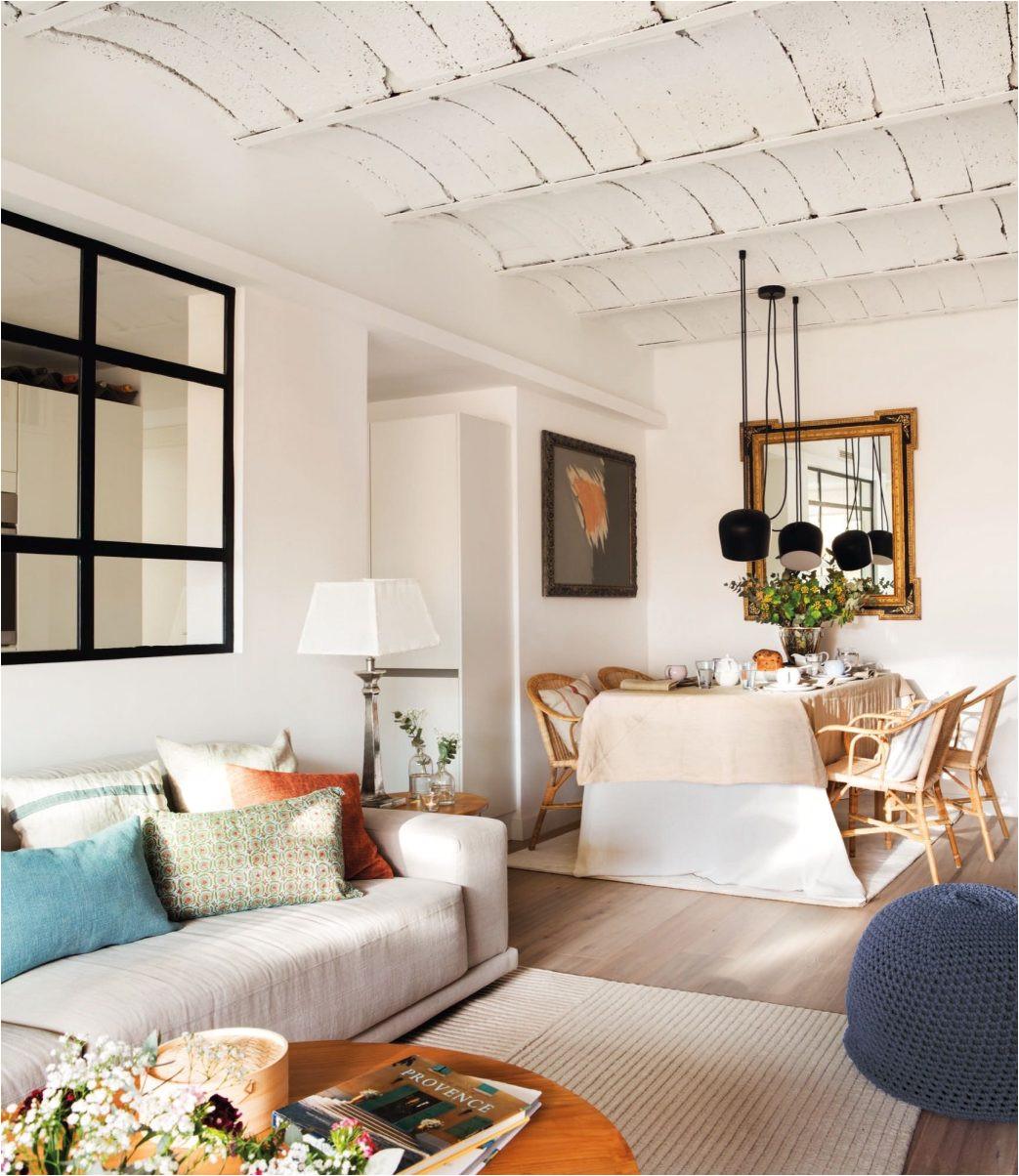 best decoracion interiores salones clasicos modernos salon moderno pequenos rusticos grandes nunca sesenta metros dieron para tanto with decoracion de