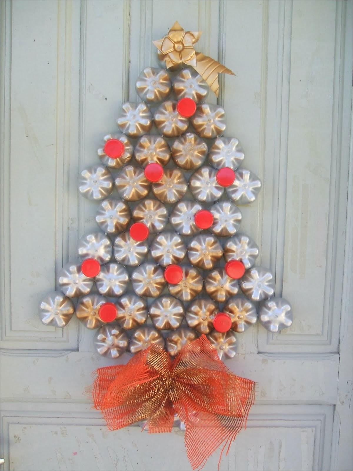 Decoraciones navide as para puertas con material - Adornos navidenos para puertas ...