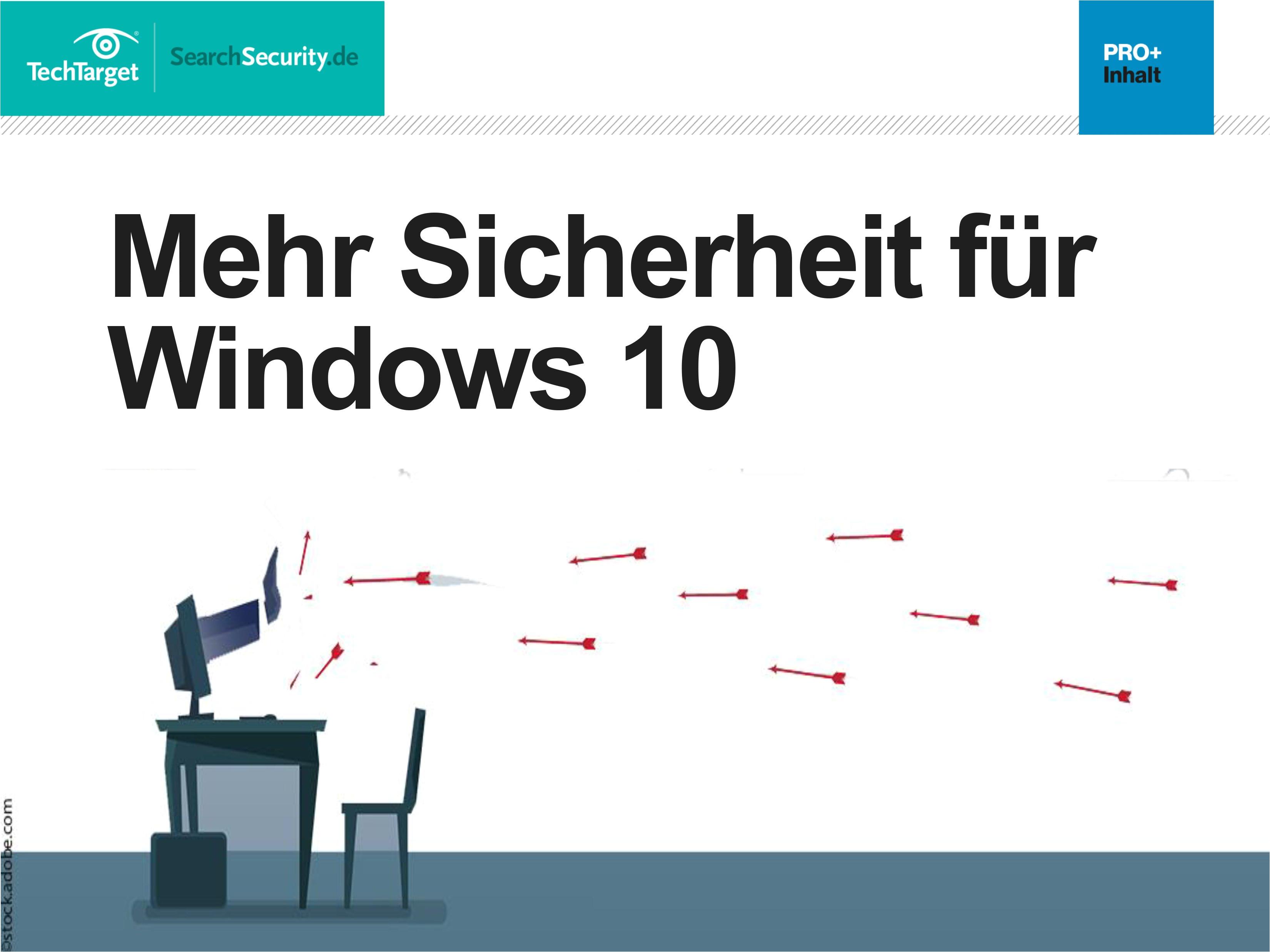 mehr sicherheit fur windows 10