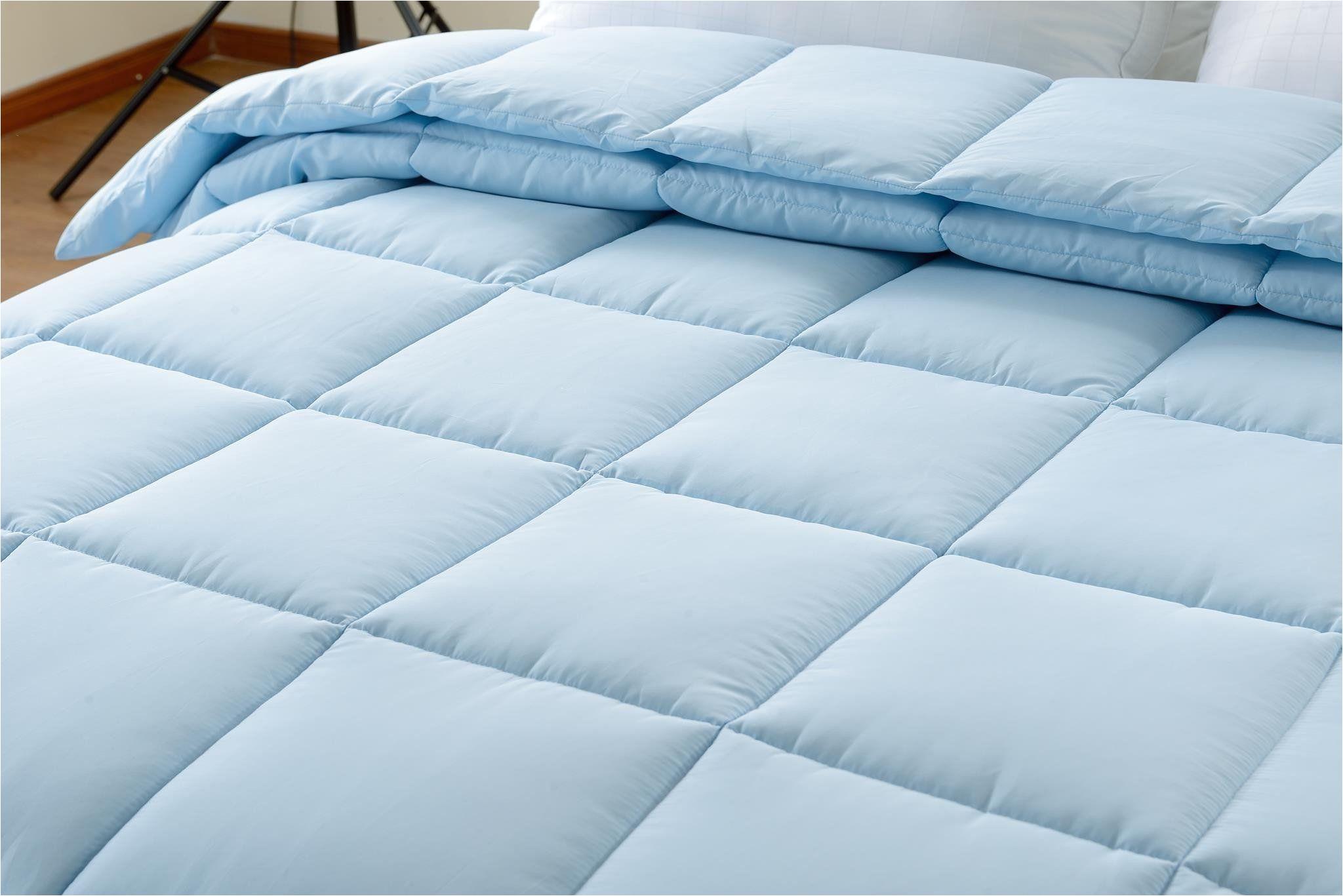 super oversized high quality down alternative comforter fits pillow top beds light