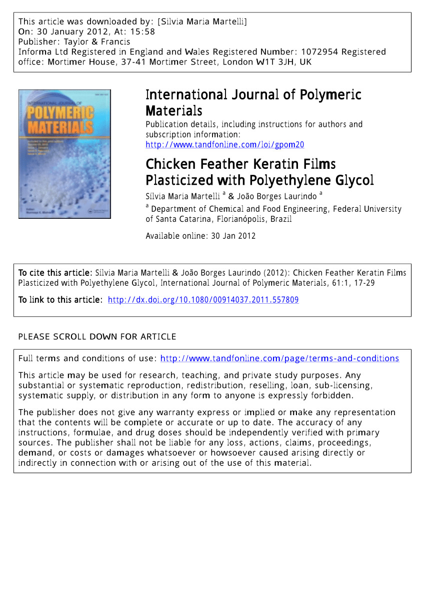 transformation of chicken feather keratin and pomelo peel pectin into biodegradable composite film request pdf