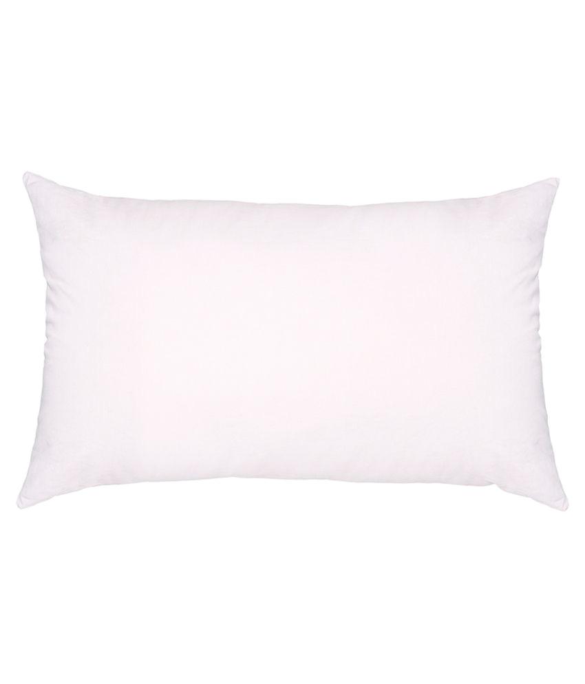 modi white cotton pillow pure fibre filling 1 pair
