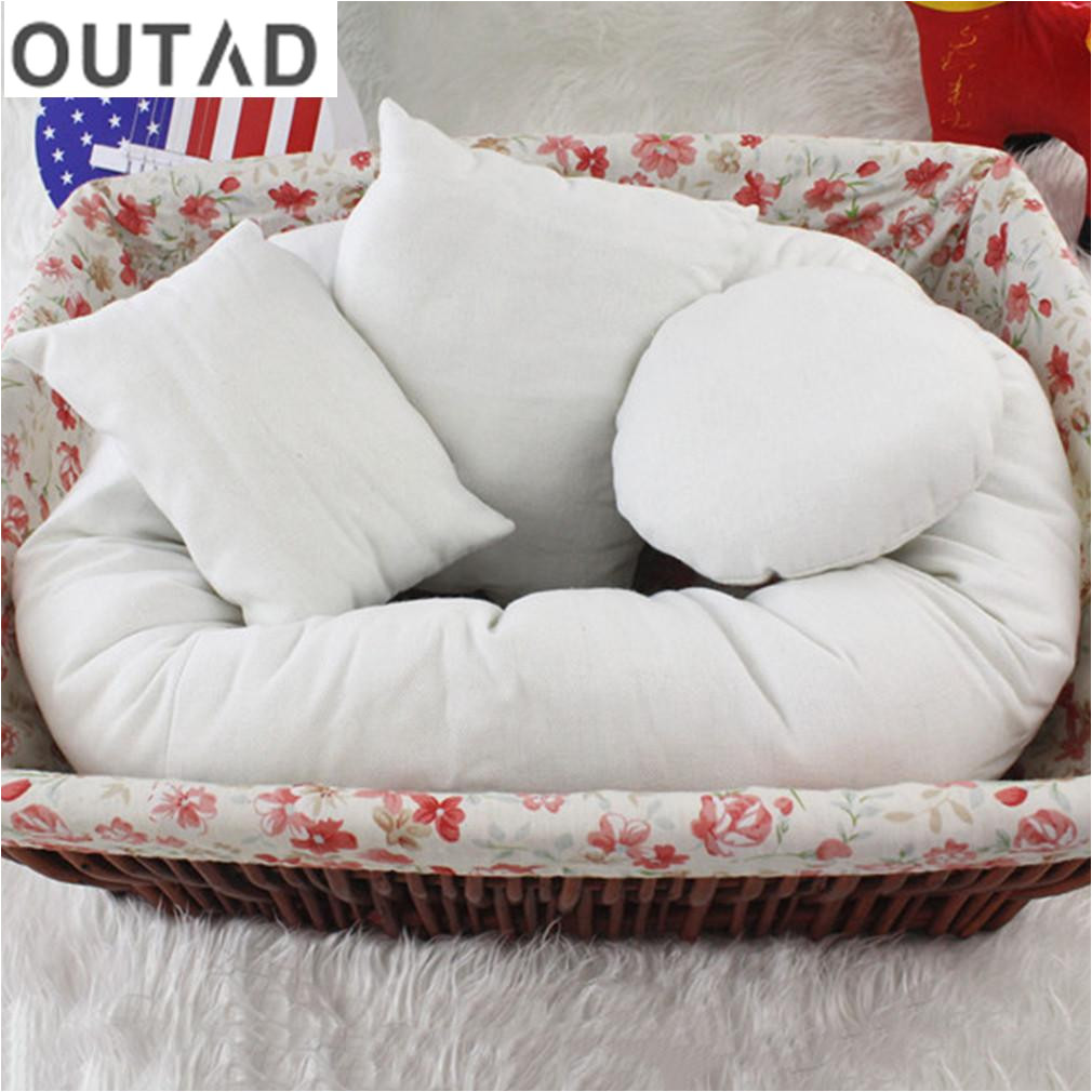 outad baby newborn pillow basket filler baby cushion infant positioner donut posing photography props pillow ring couch pillows for sale throw pillows sale