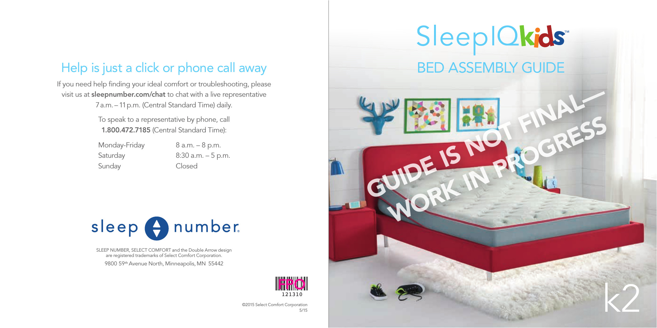 Disassembly Of Sleep Number Bed 10000 Smart Outlet User Manual Select Comfort Corp