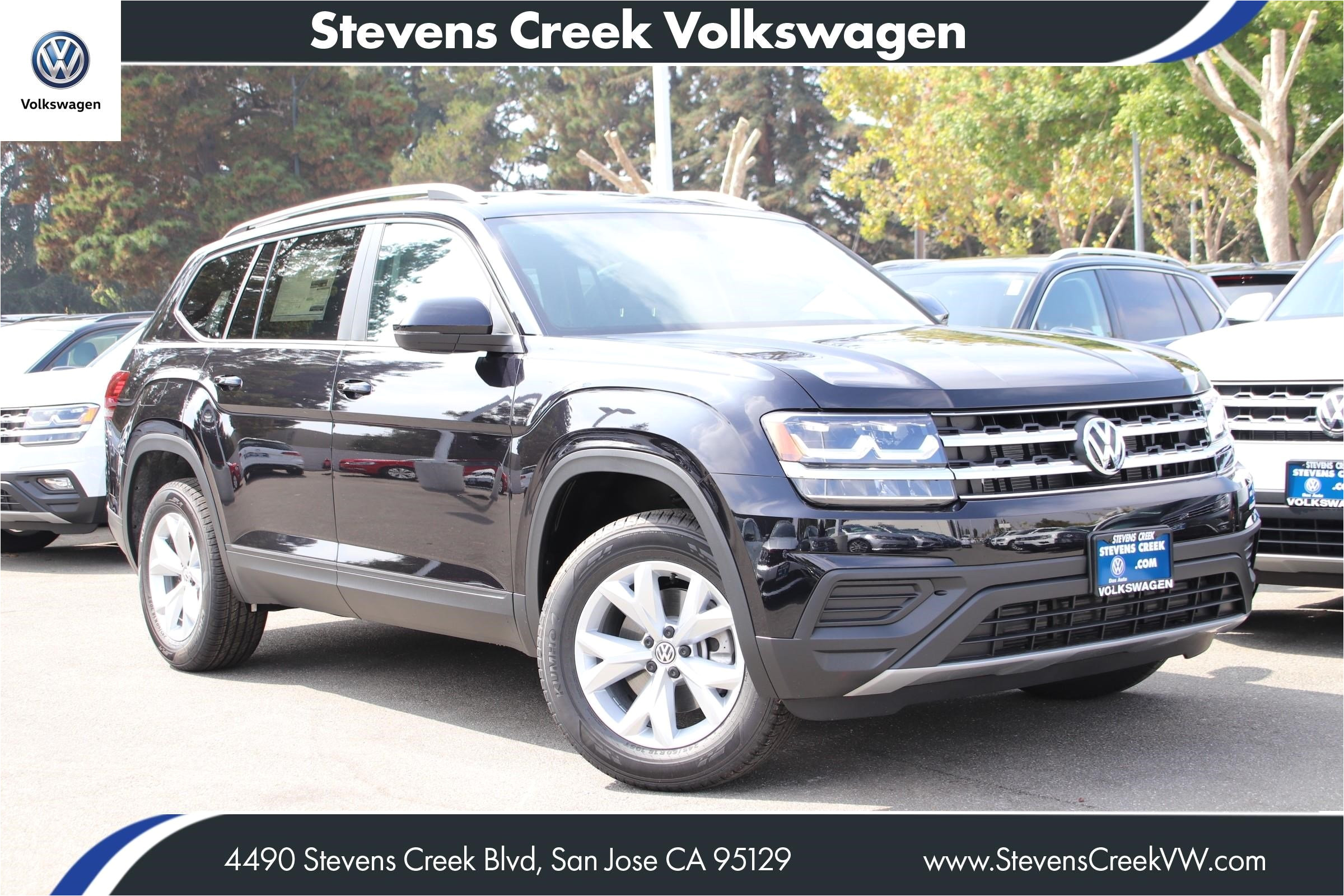 new 2018 volkswagen atlas 3 6l v6 s