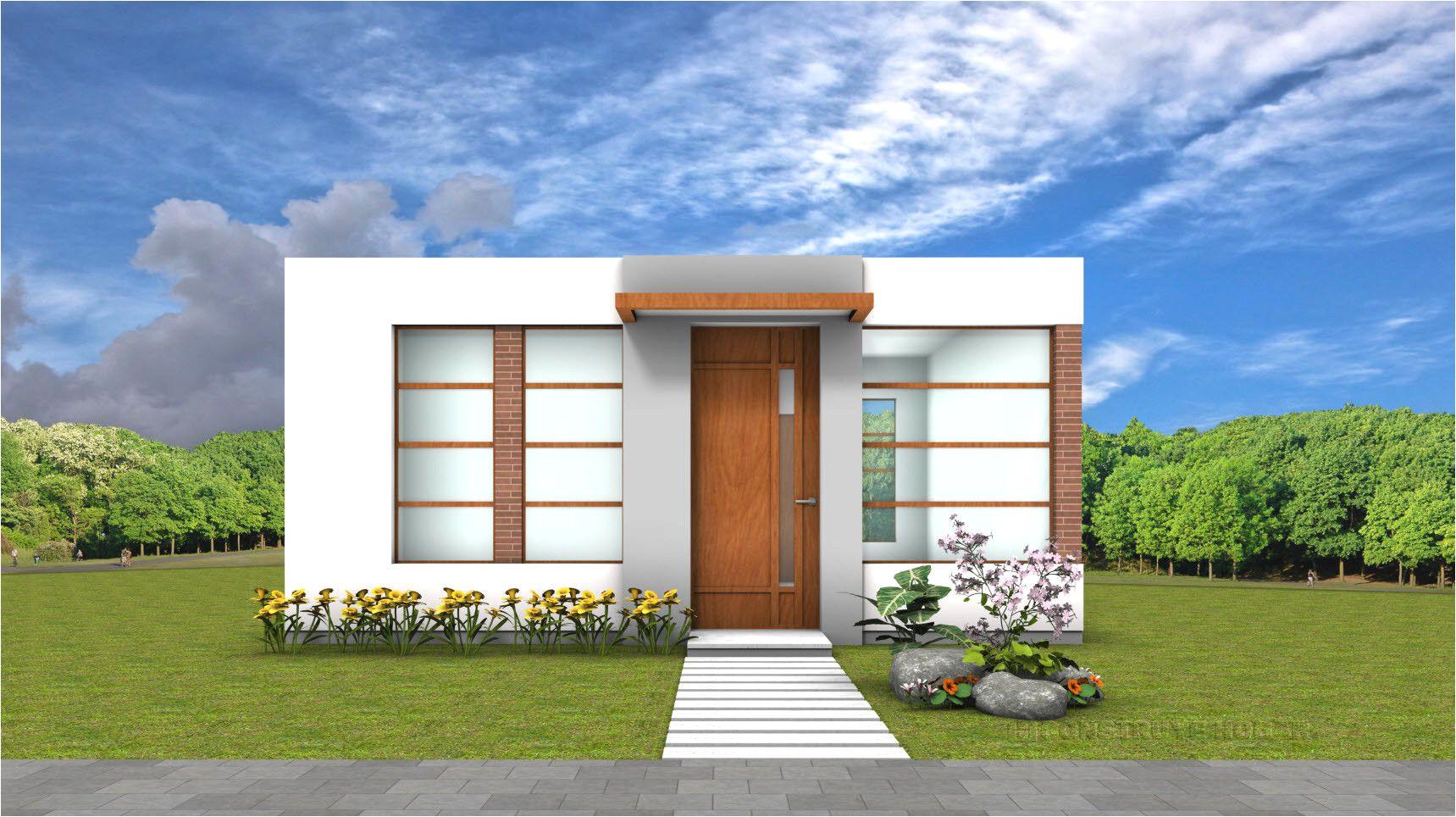 casas de un piso construye hogar avec fachada de casa moderna peque c3 b1a et casas