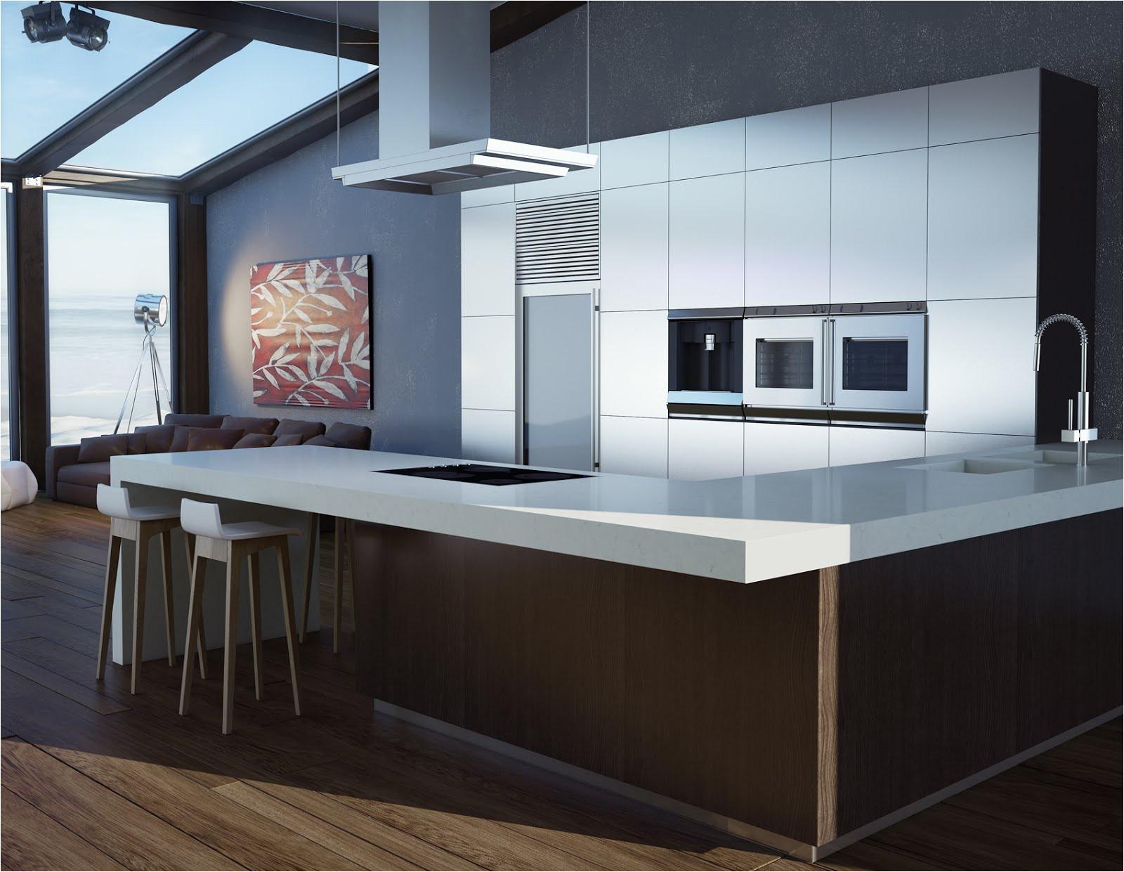 disea os de cocinas modernas impresionante lo que esta de moda en mesones de granito y cuarzo