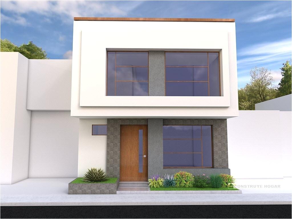 fachadas de casas modernas dos niveles disea o y planos casa