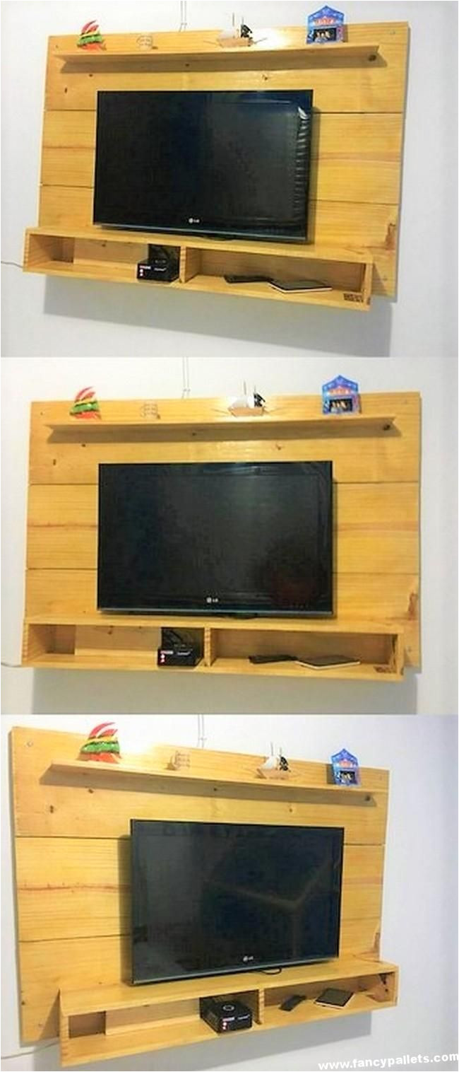 wonderful diy pallets lcd stand