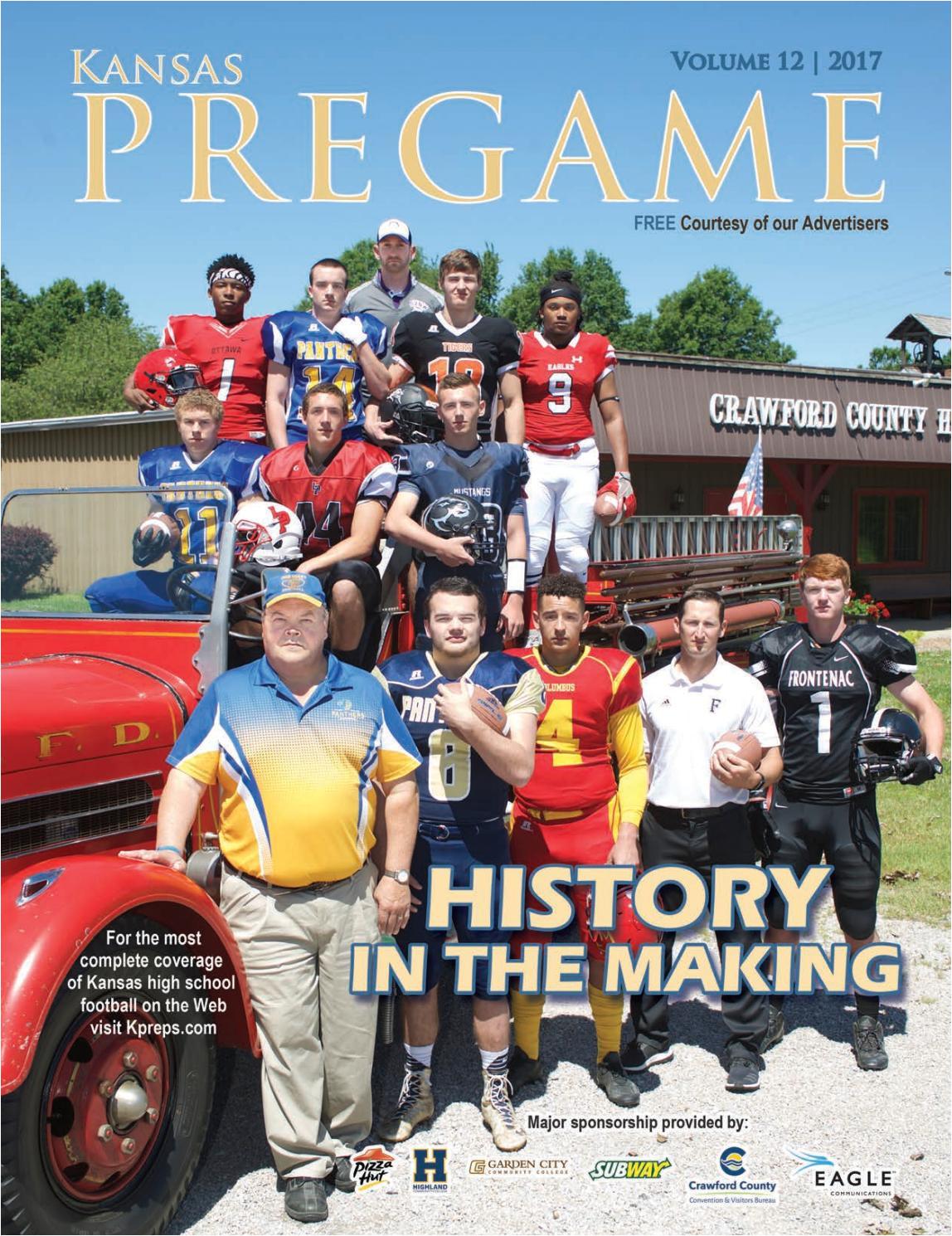 kansas pregame football preview 2017 by sixteen 60 publishing co issuu