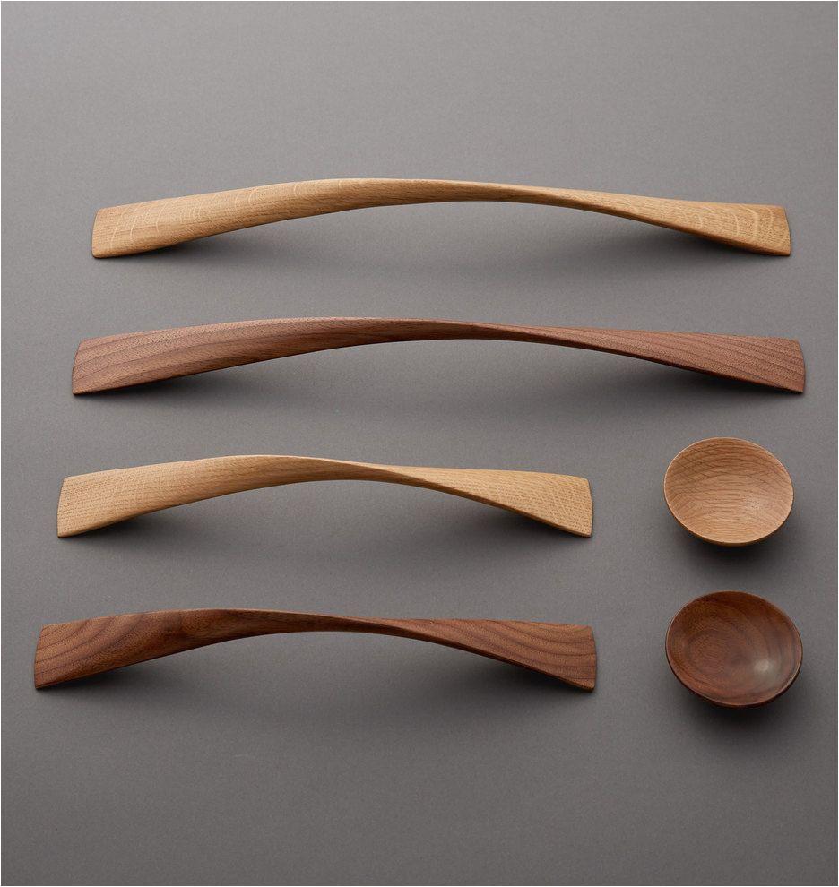 new meacham cabinet knobs drawer pulls in oak or walnut