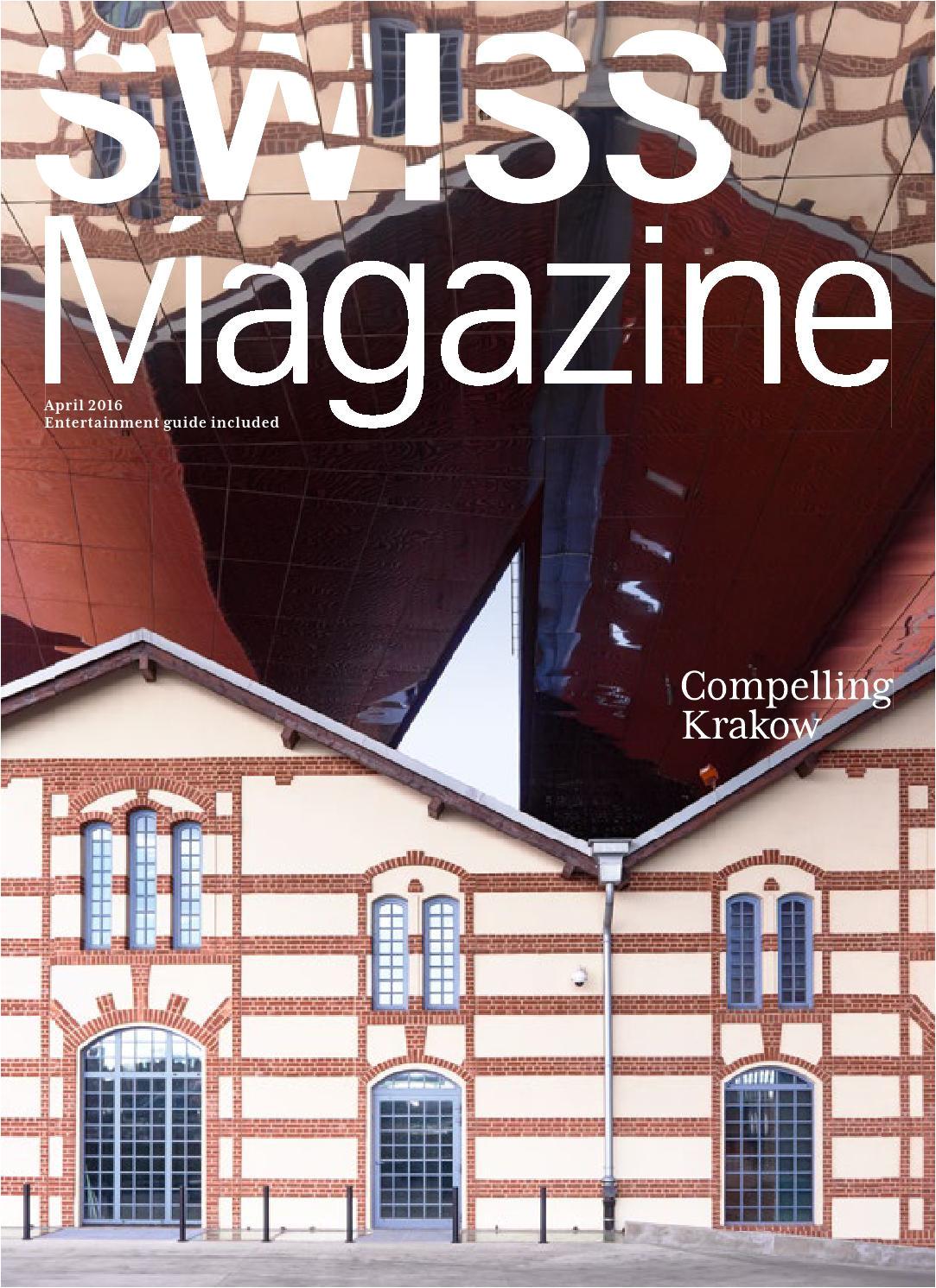 swiss magazine april 2016 krakow by inflight magazines by swiss issuu