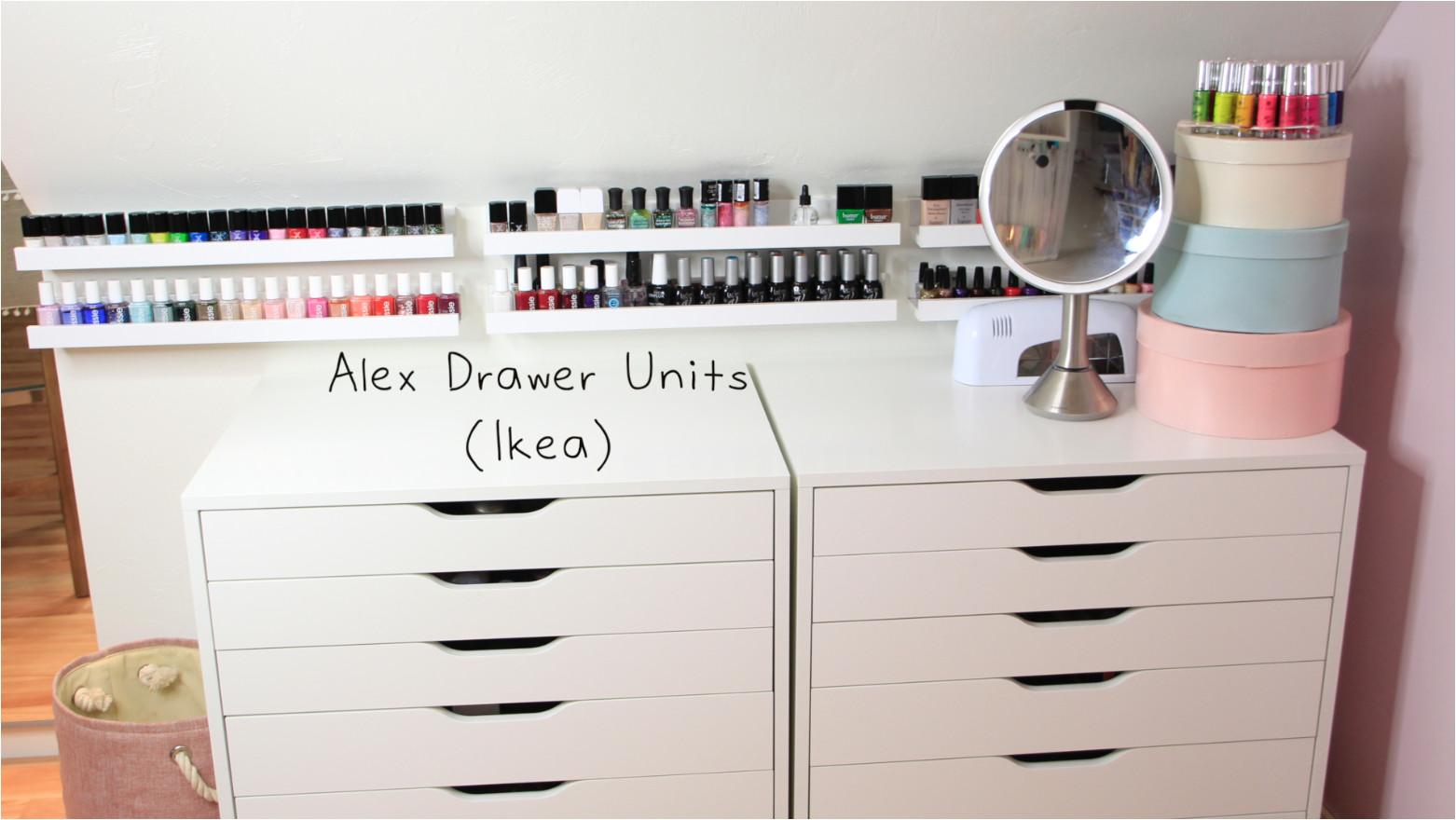 ikea makeup organizer cosmetic organizer ikea ikea alex drawer inserts