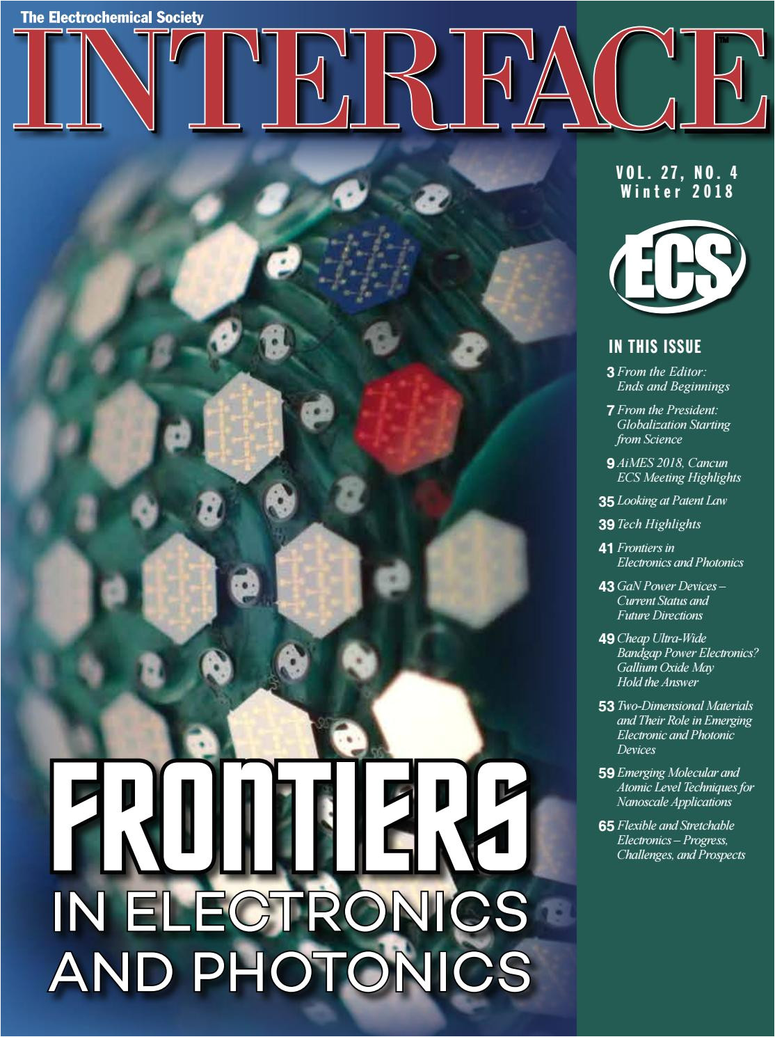 interface vol 27 no winter 2018 by the electrochemical society issuu