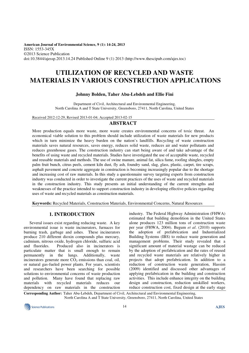 Electronics Recycling Greensboro Nc Pdf solid Waste Characterization and Recycling Potential for