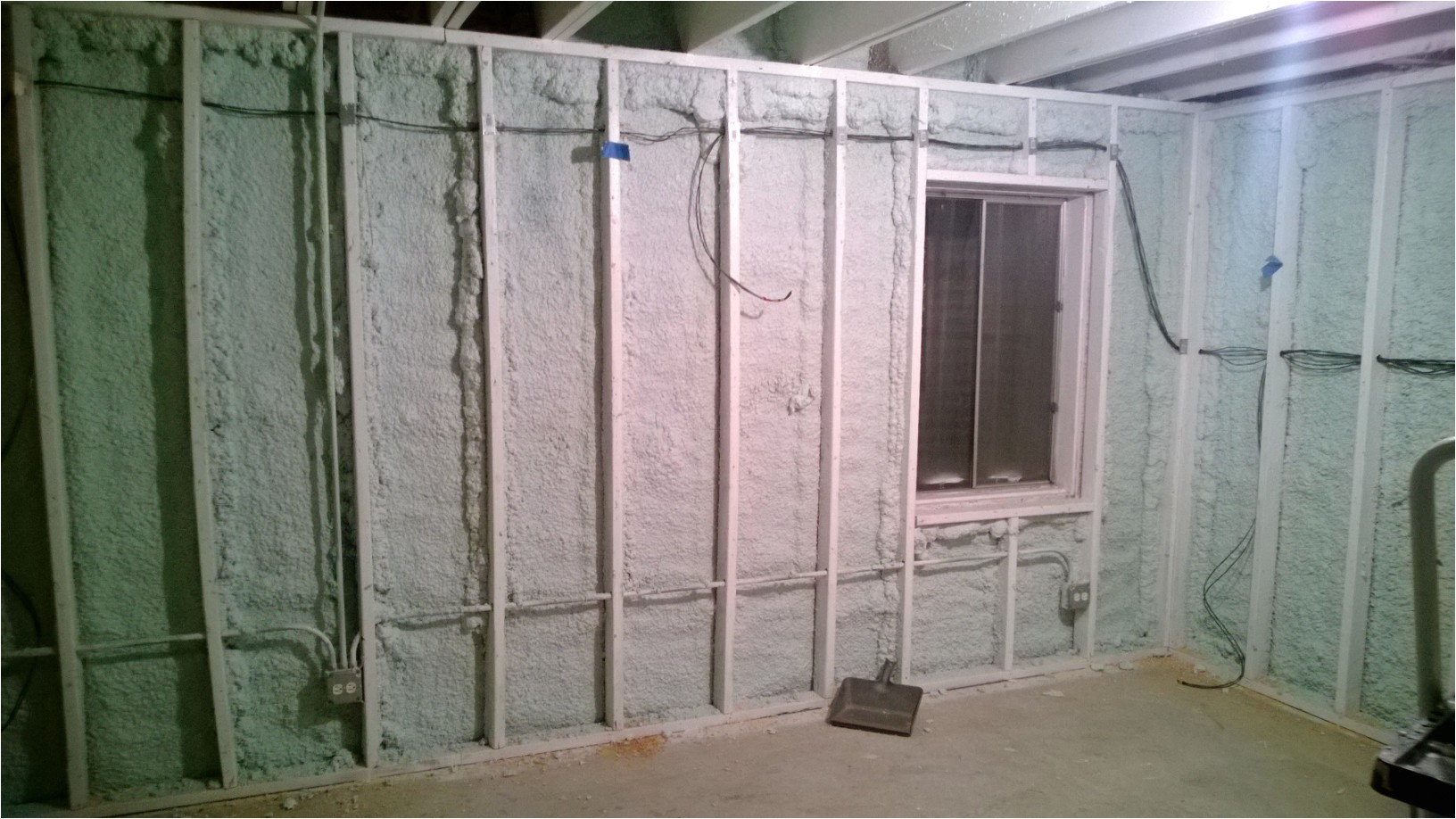 i finished my little project last thursday and i will tell you that your foam it green insulation was a lot easier to apply than i was expecting