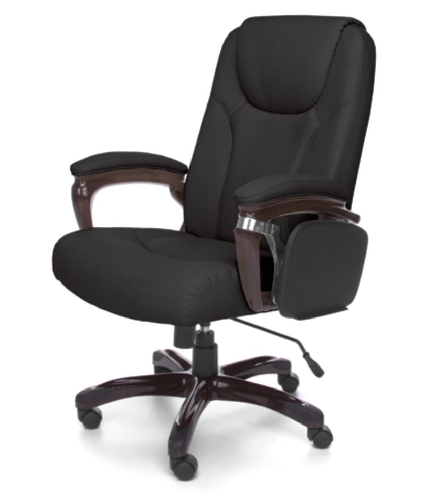 oro series black designer office chair