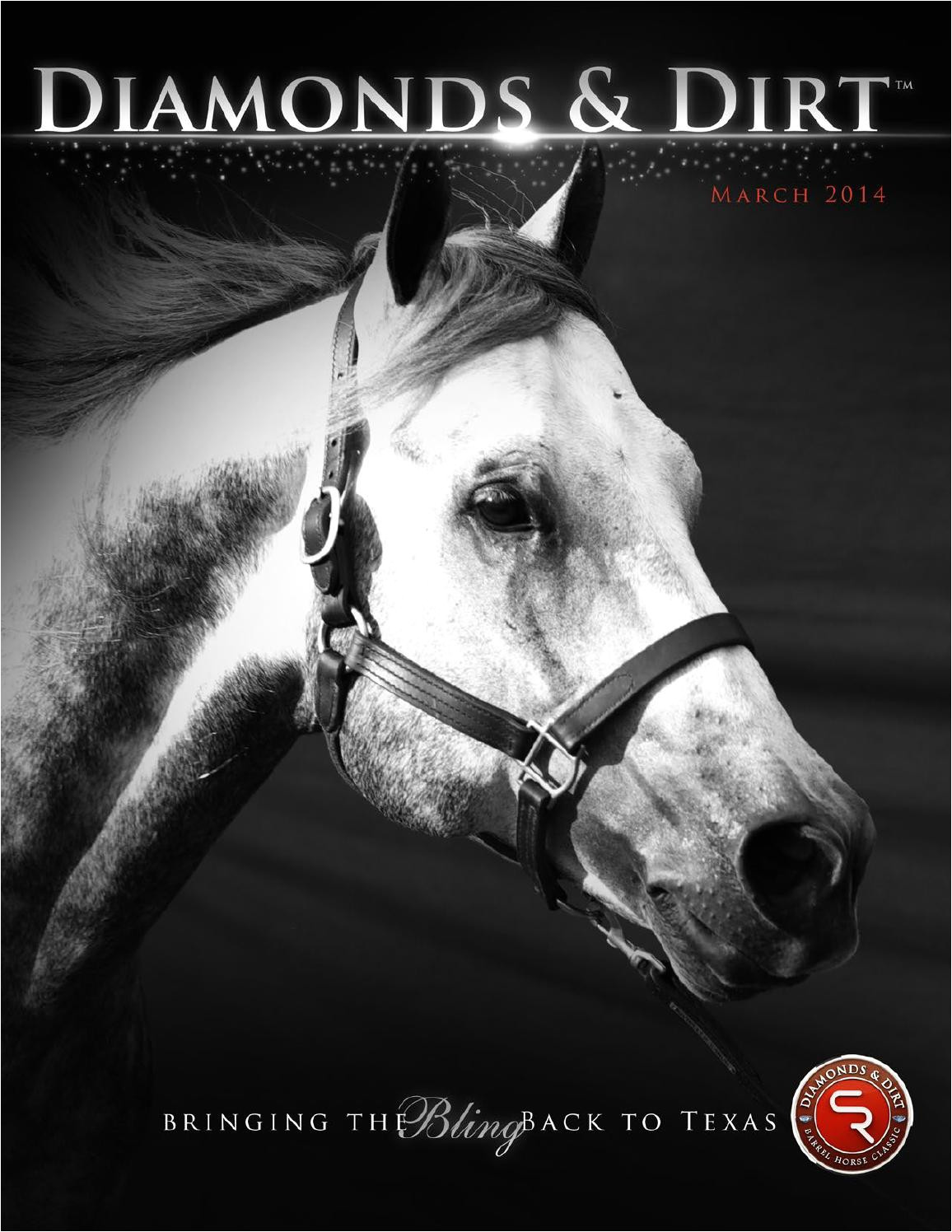 diamonds dirta 2014 magazine by diamonds dirt barrel horse classica issuu