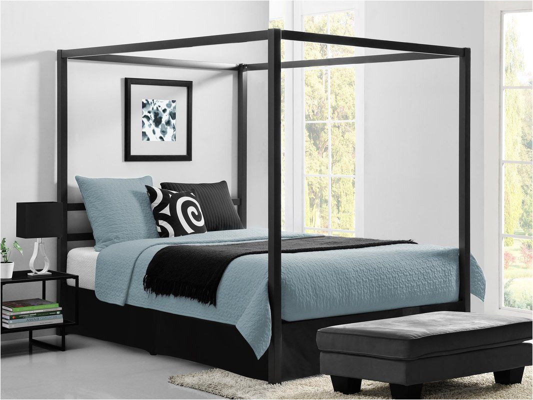 best canopy zipcode design dolson queen canopy bed