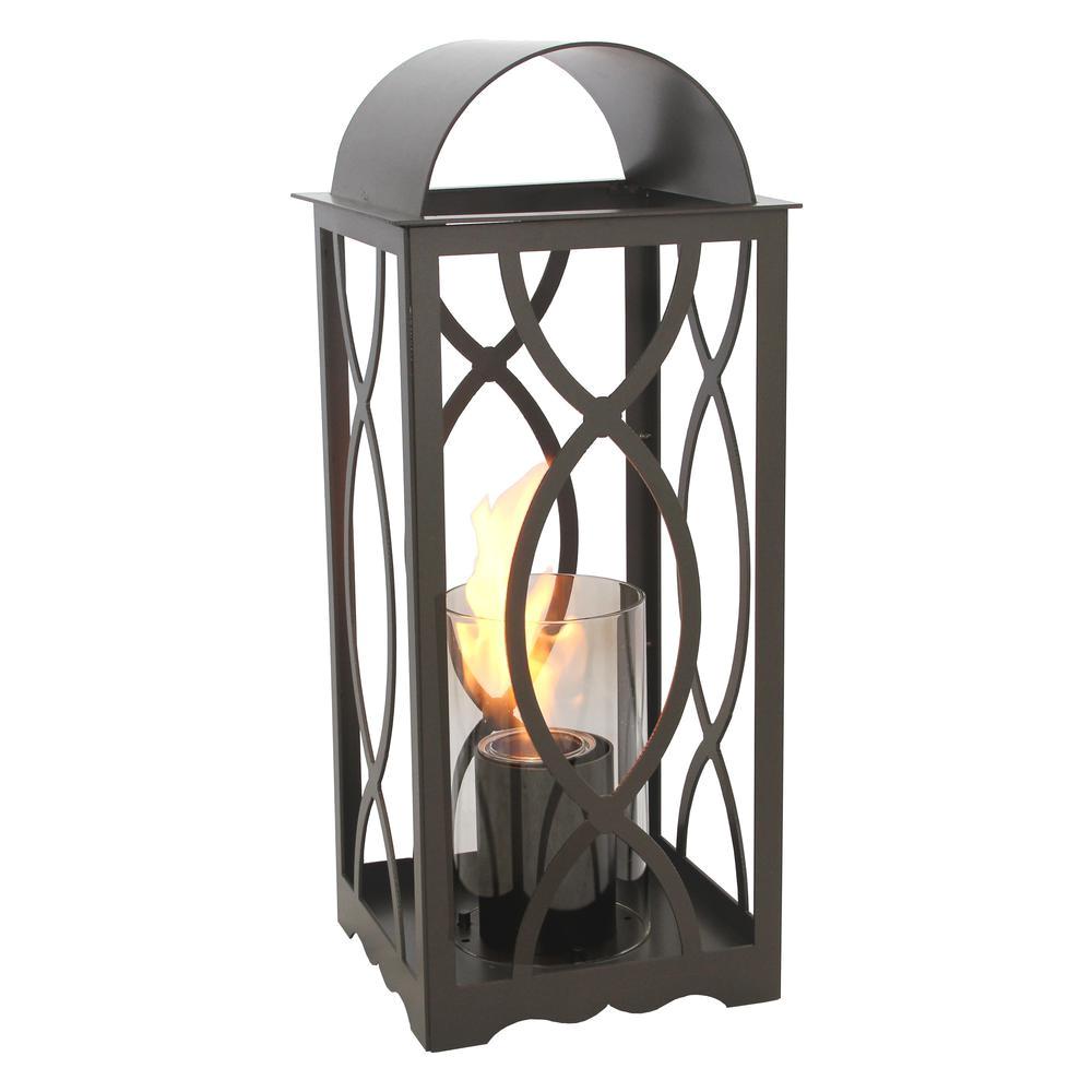 terra flame augusta 26 5 in lantern in bronze medium size