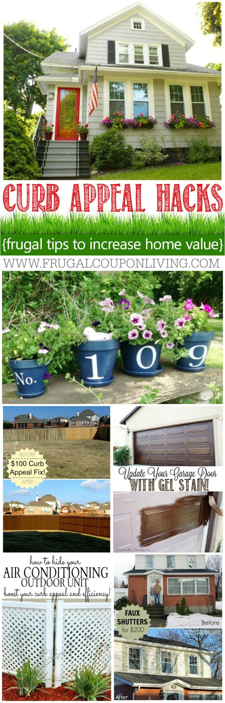 curb appeal hacks and tips frugal home ideas to increase your home value update
