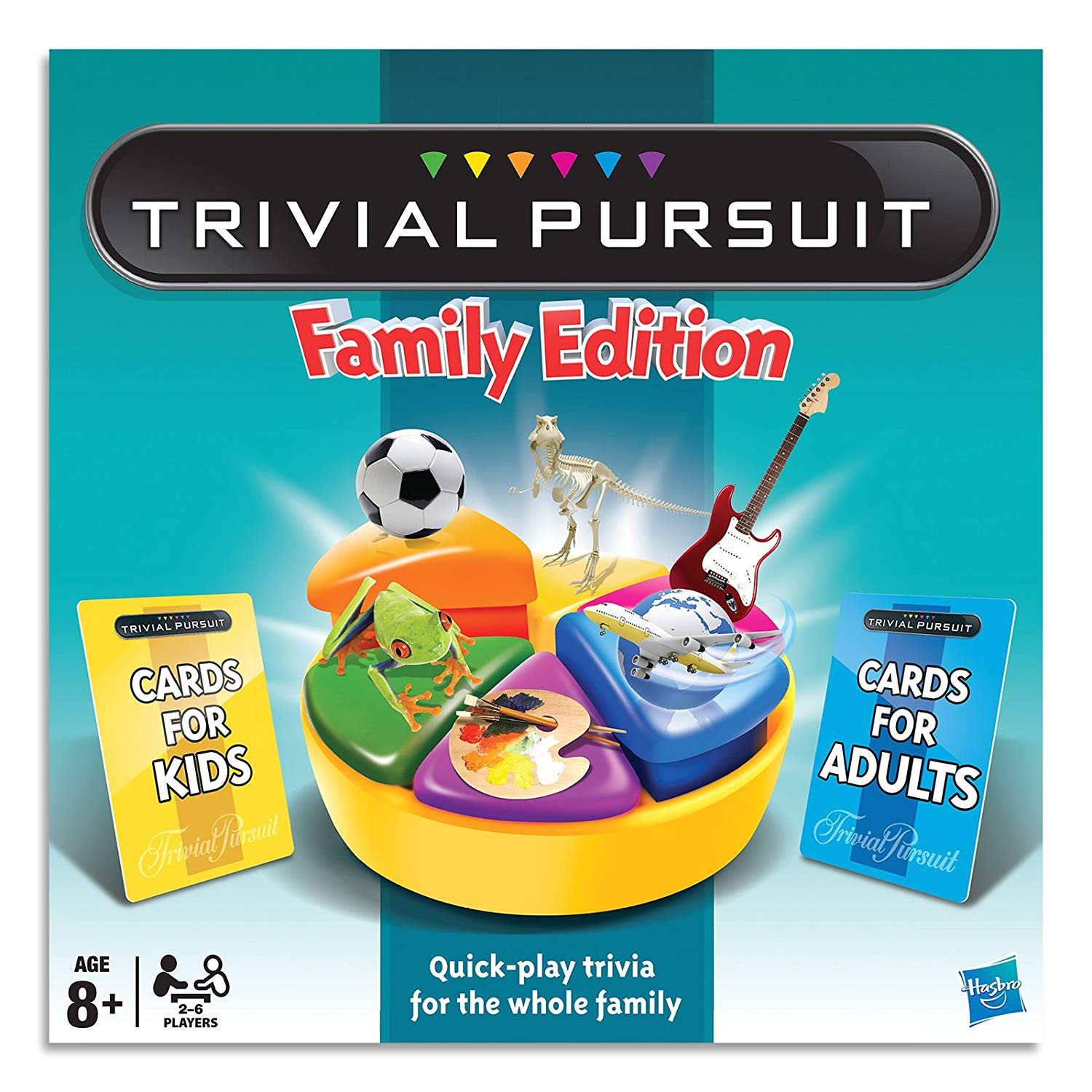 trivial pursuit family edition board game ages 8 amazon com au toys games
