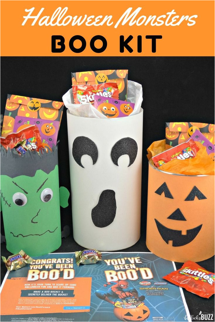 create your own cute boo kit this halloween and boo it forward surprise friends and family with these faboolous halloween monster boo kits filled with fun