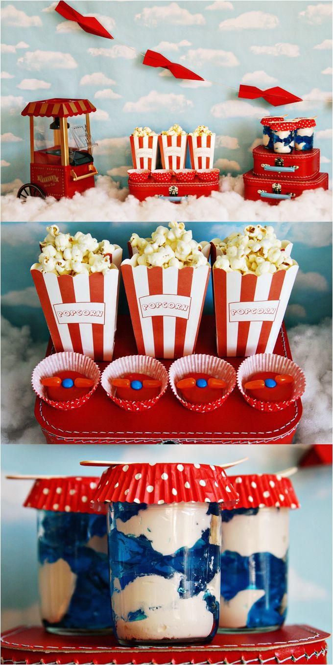 party disney planes family movie night