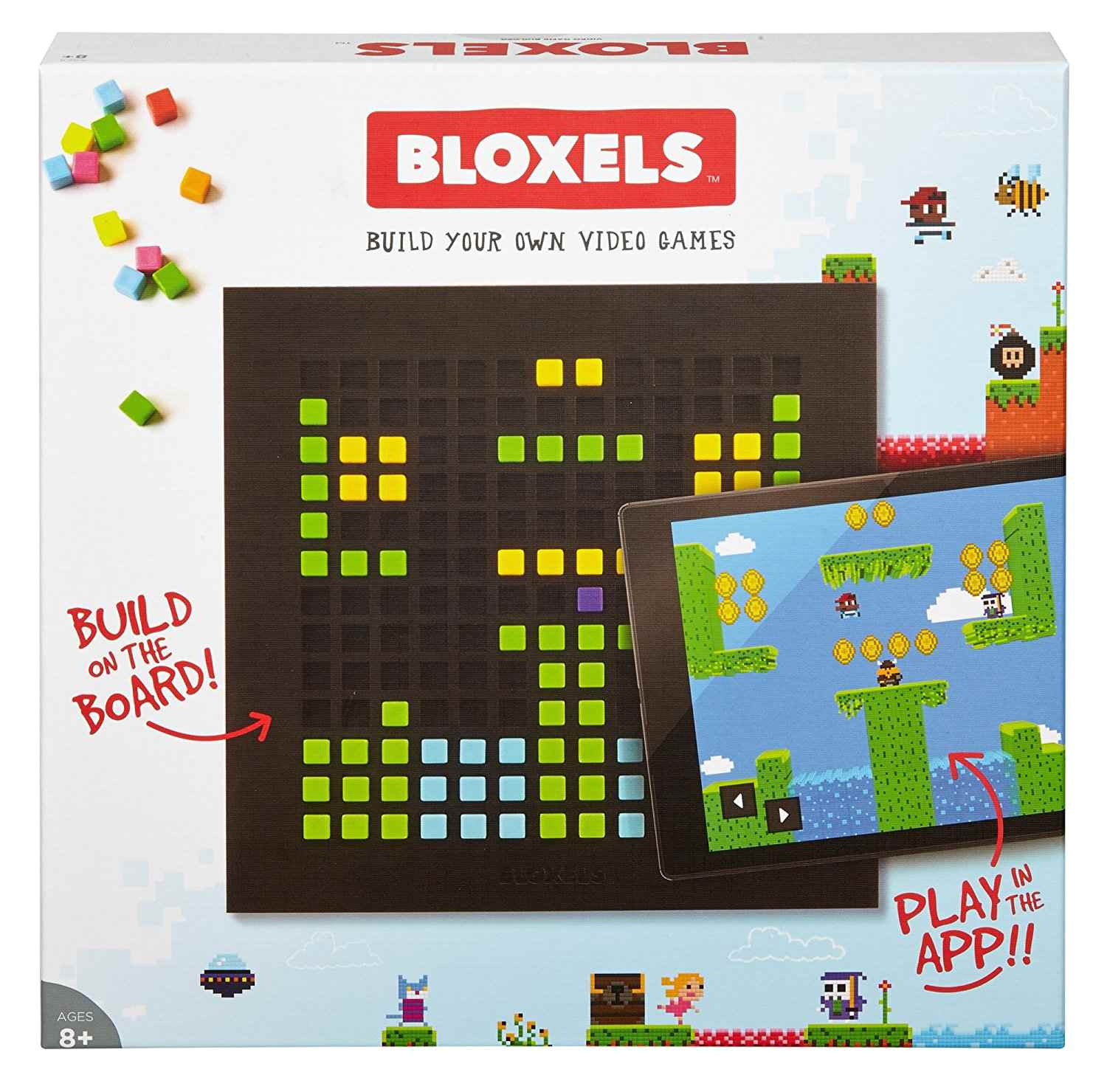 best for video game lovers bloxels build your own video game