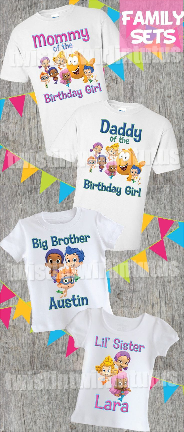 bubble guppies family birthday shirts in 2018 family sets pinterest birthday birthday shirts and family birthday shirts