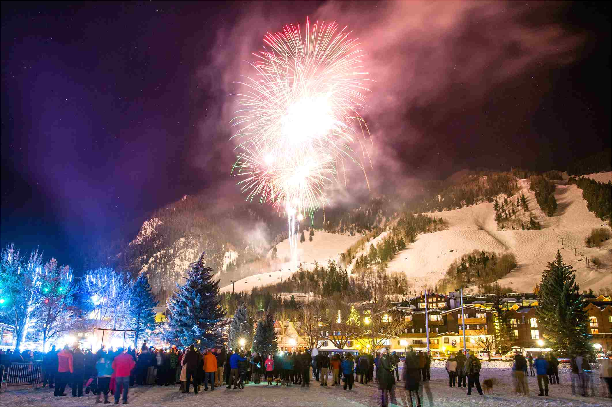 new years eve fireworks in aspen