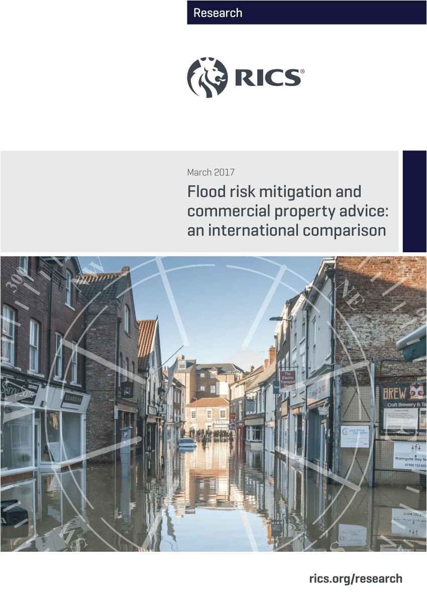 pdf flood risk mitigation and commercial property advice an international comparison