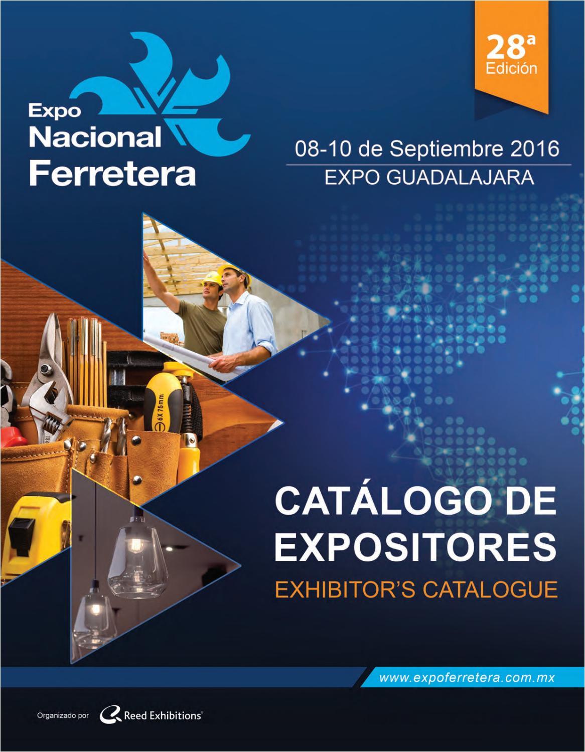 expo nacional ferretera catalogo de expositores 2016 by reed exhibitions mexico issuu