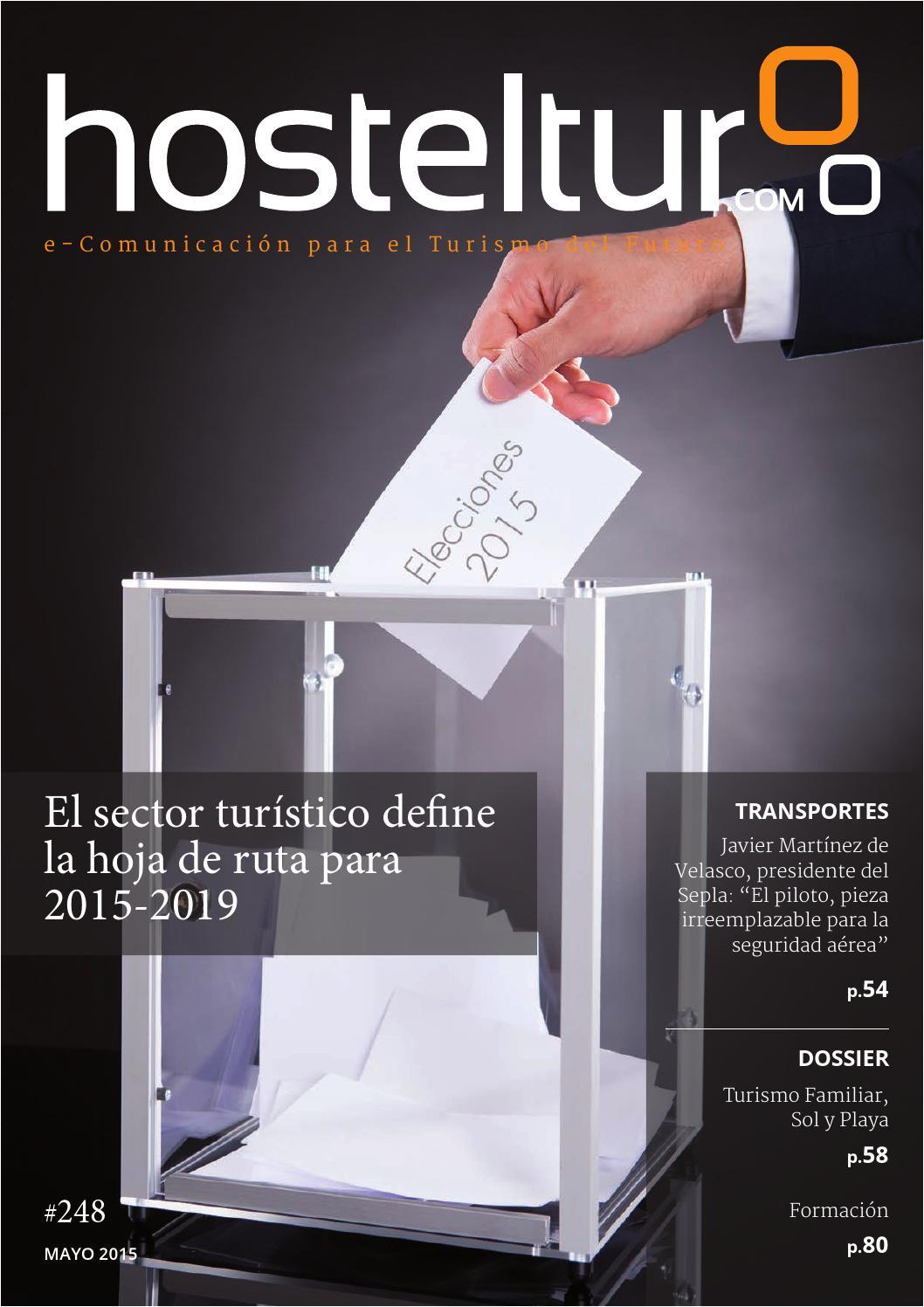 hosteltur 248 elecciones 2015 el sector tura stico define la hoja de by hosteltur 2015 issuu